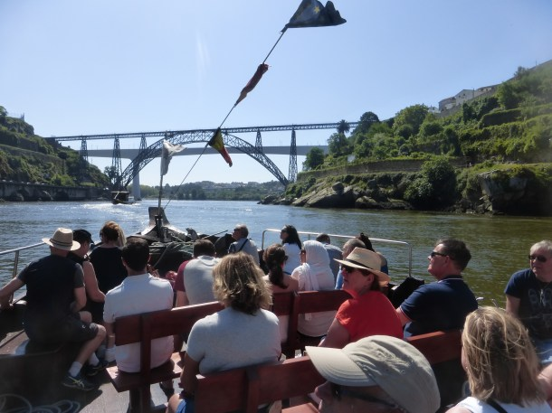 Boat trip on the Douro