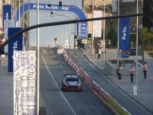 The Porto town stage of the Vodafone Tour de Portugal