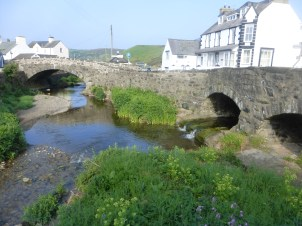 Two bridges at Aberdaron