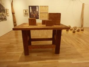 David Nash exhibition, Cardiff Museum