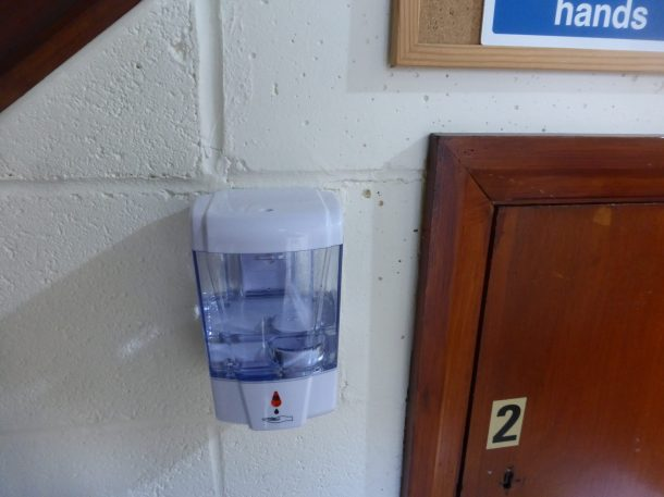 Contactless sanitizer