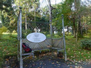 Lady Aberconway's Seat and myrucksack