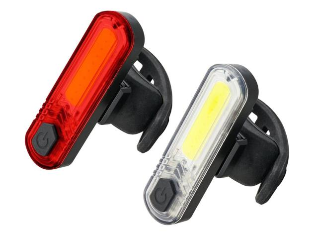 Znalezione obrazy dla zapytania: lampki rowerowe usb
