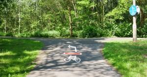 Czerwony szlak rowerowy nr 1 Katowice - Pszczyna