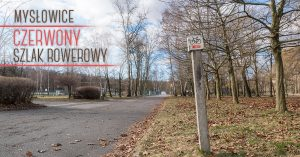 Czerwony szlak rowerowy w Mysłowicach