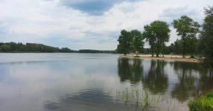 trasy rowerowe Jaworzno - Zalew Sosina