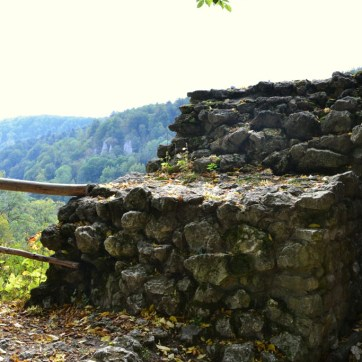 Zamek w Ojcowie.