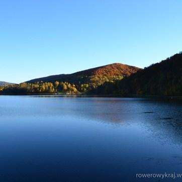 Jezioro Myczkowskie. Widok z zapory