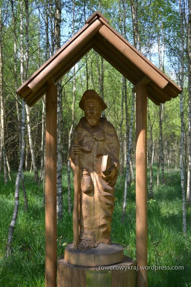 Jedna z figur na Sakro-Turystycznym Szlaku Pątniczym łączącym Sulisławice i Koprzywnicę