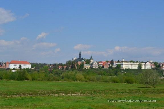 Widok na Sandomierz z prawego brzegu Wisły