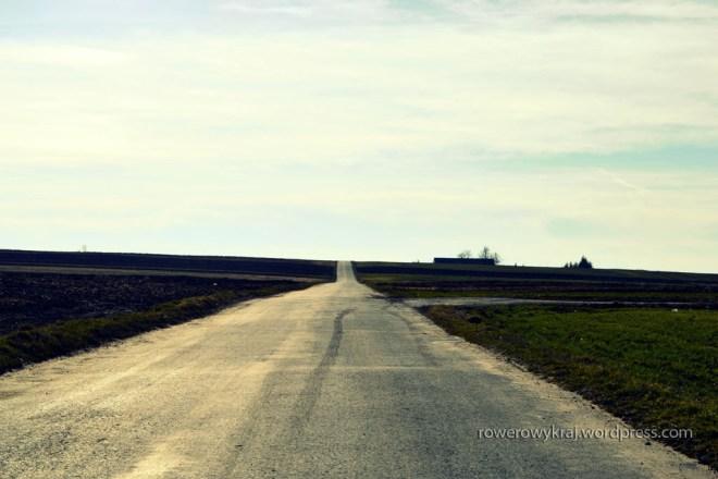 Przed nami tylko tyle, droga, pola i wiatr