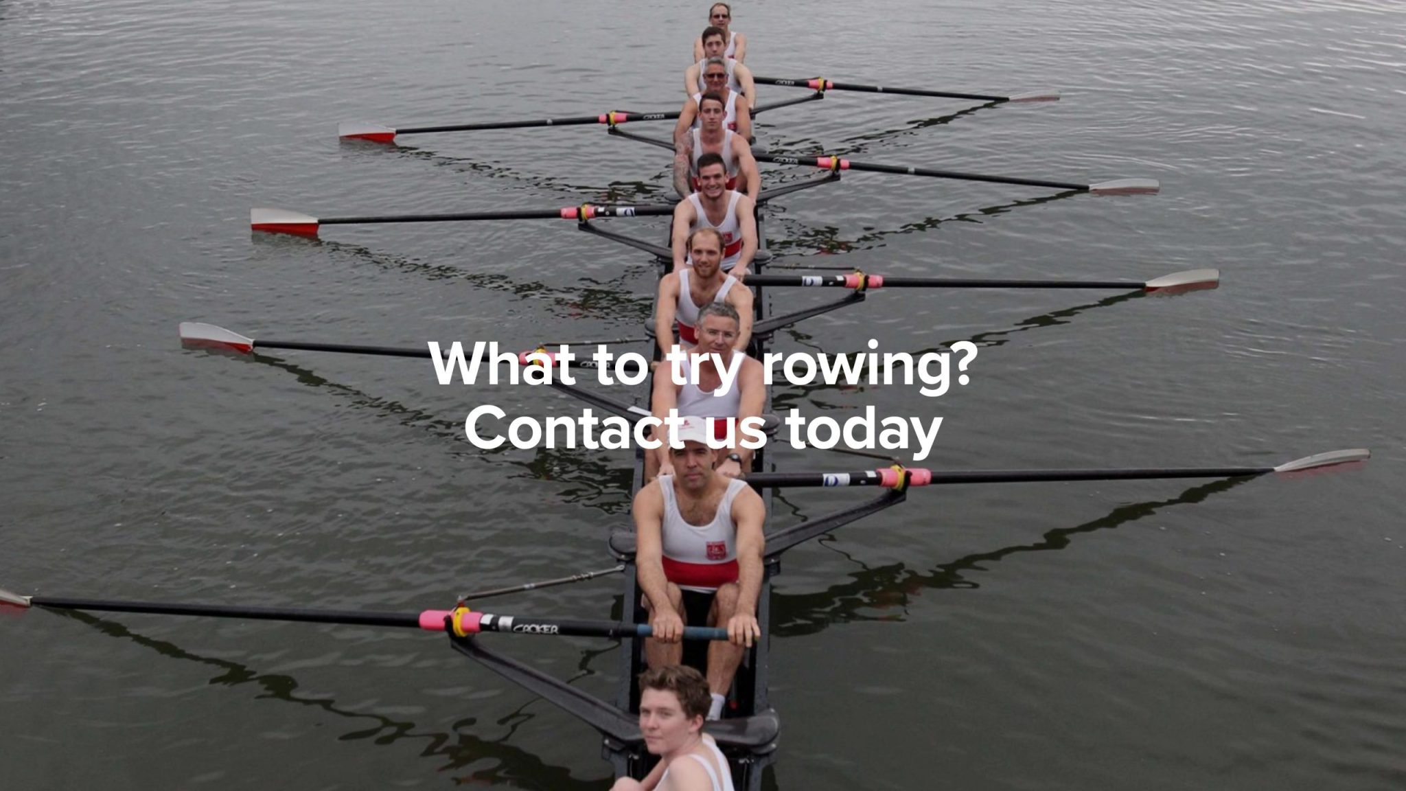 Try rowing today