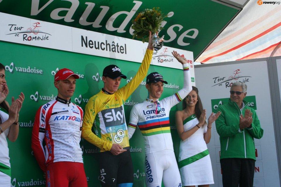 romandia podium