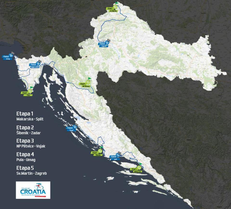 tourofcroatia2015-mapa
