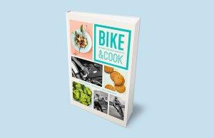 """Okładka książki """"Bike & Cook. Kulinarny poradnik rowerzysty"""""""