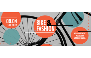 """Bike&Fashion"" - targi rowerowo modowe baner"