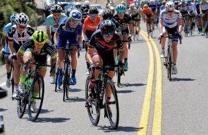 peleton na 1. etapie Tour of Colifornia Woman