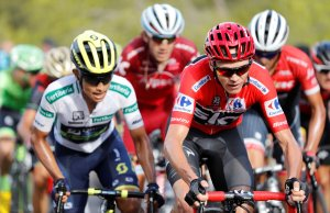 Estaban Chaves i Chris Froome