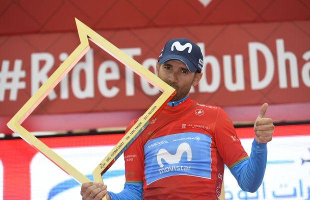 Alejandro Valverde z nagrodą za triumf w Abu Dhabi Tour