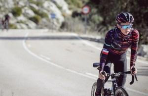 Katarzyna Niewiadoma na rowerze