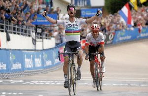 Peter Sagan zostaje zwycięzcą Paryż-Roubaix