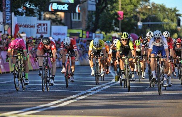 Alvaro Hodeg wygrywa trzeci etap Tour de Pologne