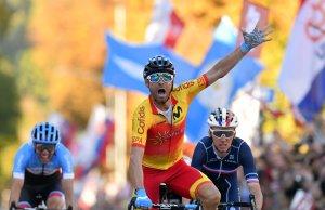 Alejandro Valverde został w Innsbrucku mistrzem świata