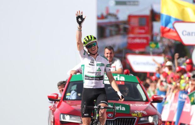Ben Kinga wygrywa 9. etap Vuelty