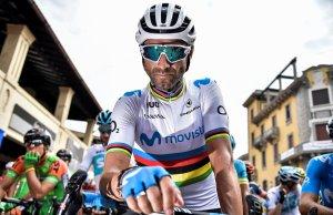 Alejandro Valverde przed startem do Mediolan-Turyn