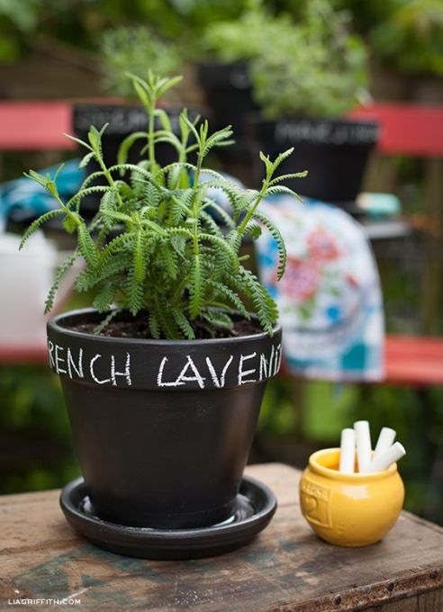 Label Your Flower Pots
