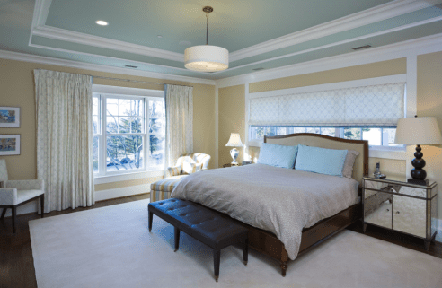 Soothing Bedroom Colour Combination