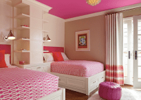 Hot Pink Ceiling