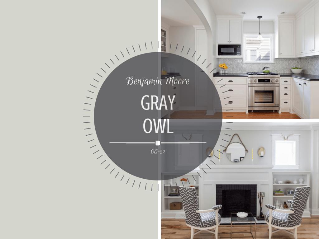 Color spotlight benjamin moore gray owl rowe spurling paint company