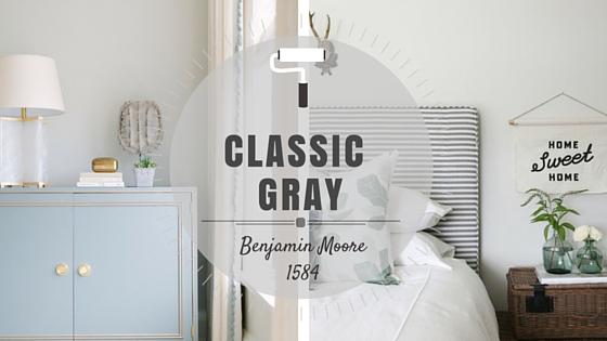 COLOR SPOTLIGHT - Benjamin Moore Classic Gray