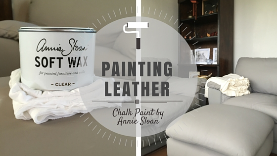 Painting Leather With Chalk Paint By Annie Sloan Part 2