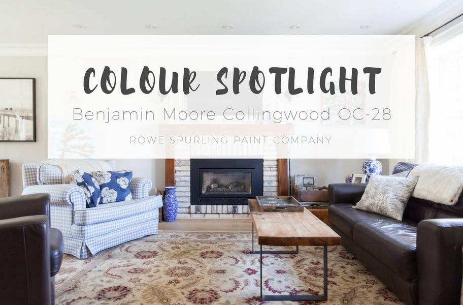 COLOUR SPOTLIGHT - Benjamin Moore Collingwood OC-28