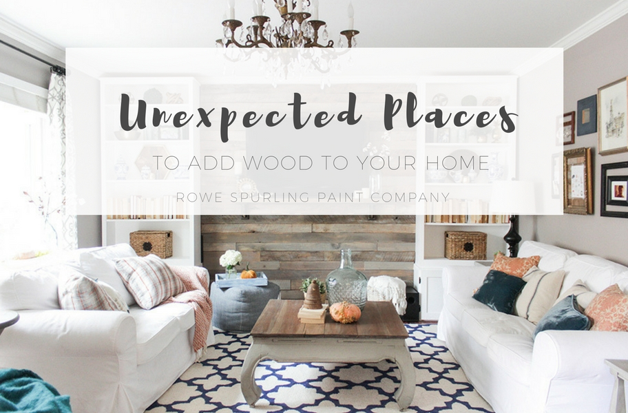 Unexpected Places To Add Wood In Your Home