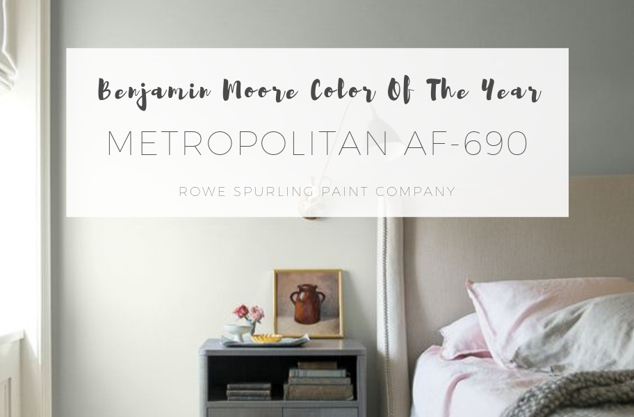 Benjamin Moore 2019 Color Of The Year AF-690 Metropolitan