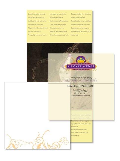 Royal Affair Invitation