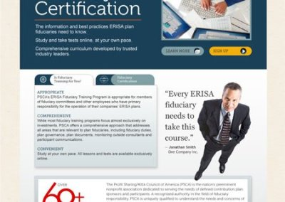 PSCA Fiduciary Training Site – Home Page