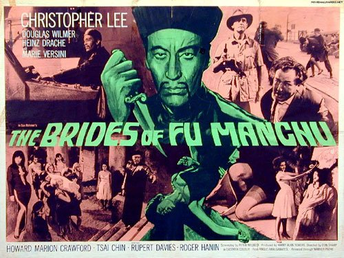 The Brides of Fu Manchu, Christopher Lee