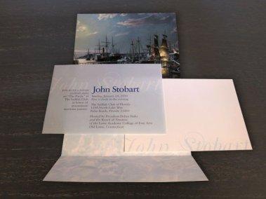 John Stobart mailers