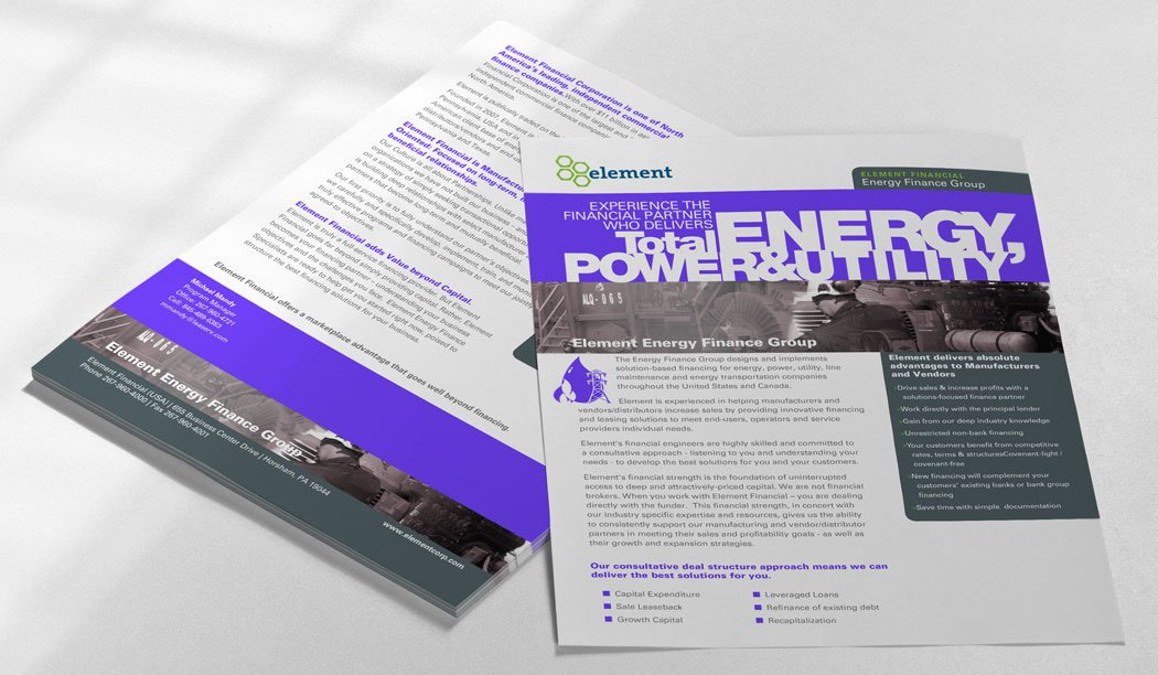 Energy Overview Flyer