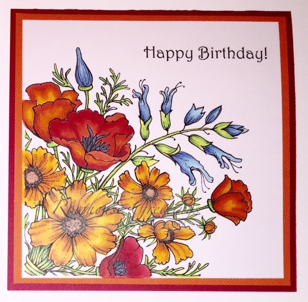 Rowhouse Greetings | Birthday card | Countryside Bouquet by Power Poppy