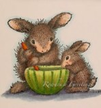 Rowhouse Greetings | House Mouse Designs | Hop-it and Itty-Bit