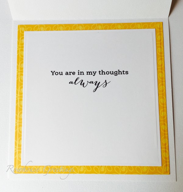 Rowhouse Greetings | Thinking of You | Winter Pick Me Up by Power Poppy