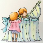 Rowhouse Greetings | New Baby | New Baby [Detail] by Mo's Digital Pencil