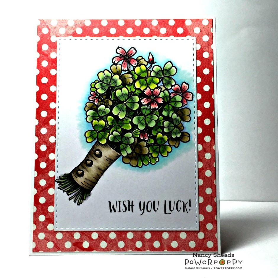 Rowhouse Greetings | Wish You Luck by Power Poppy