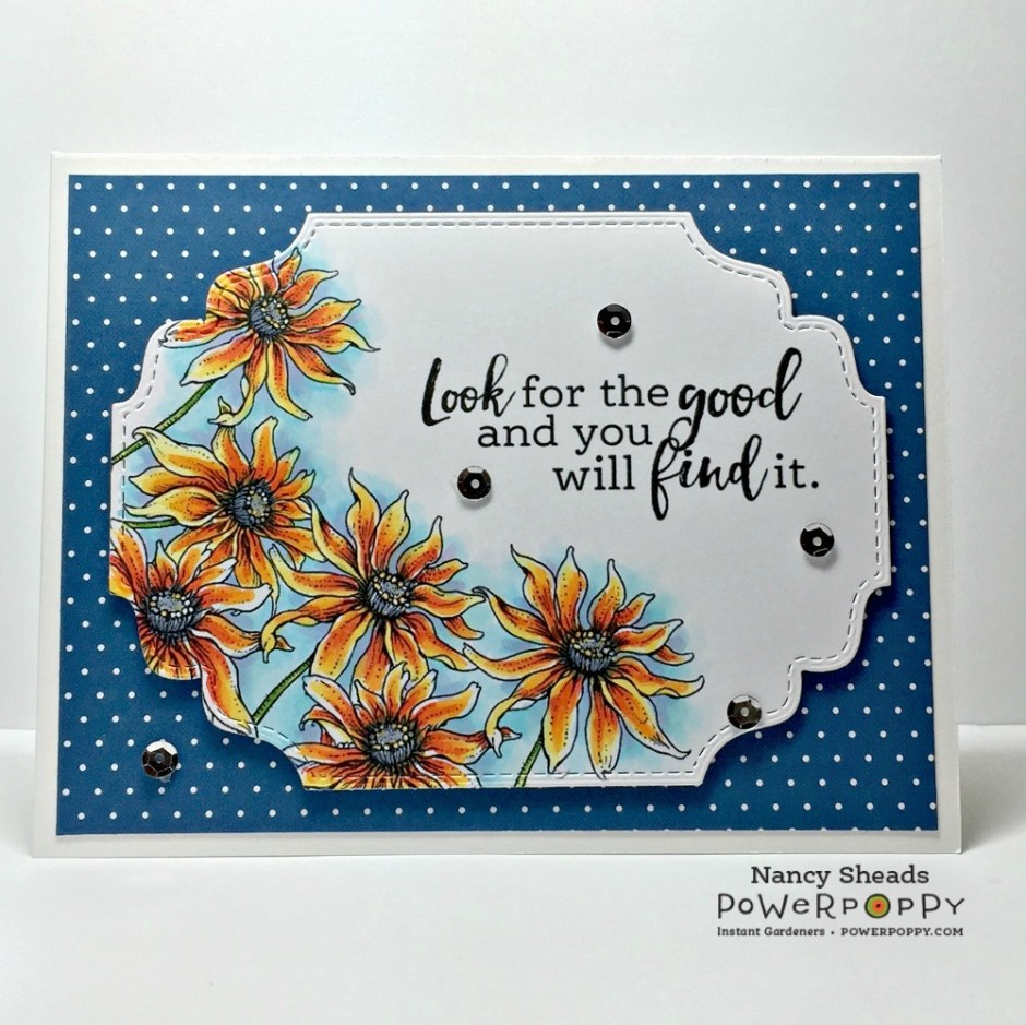 Rowhouse Greetings | Black Eyed Susan by Power Poppy