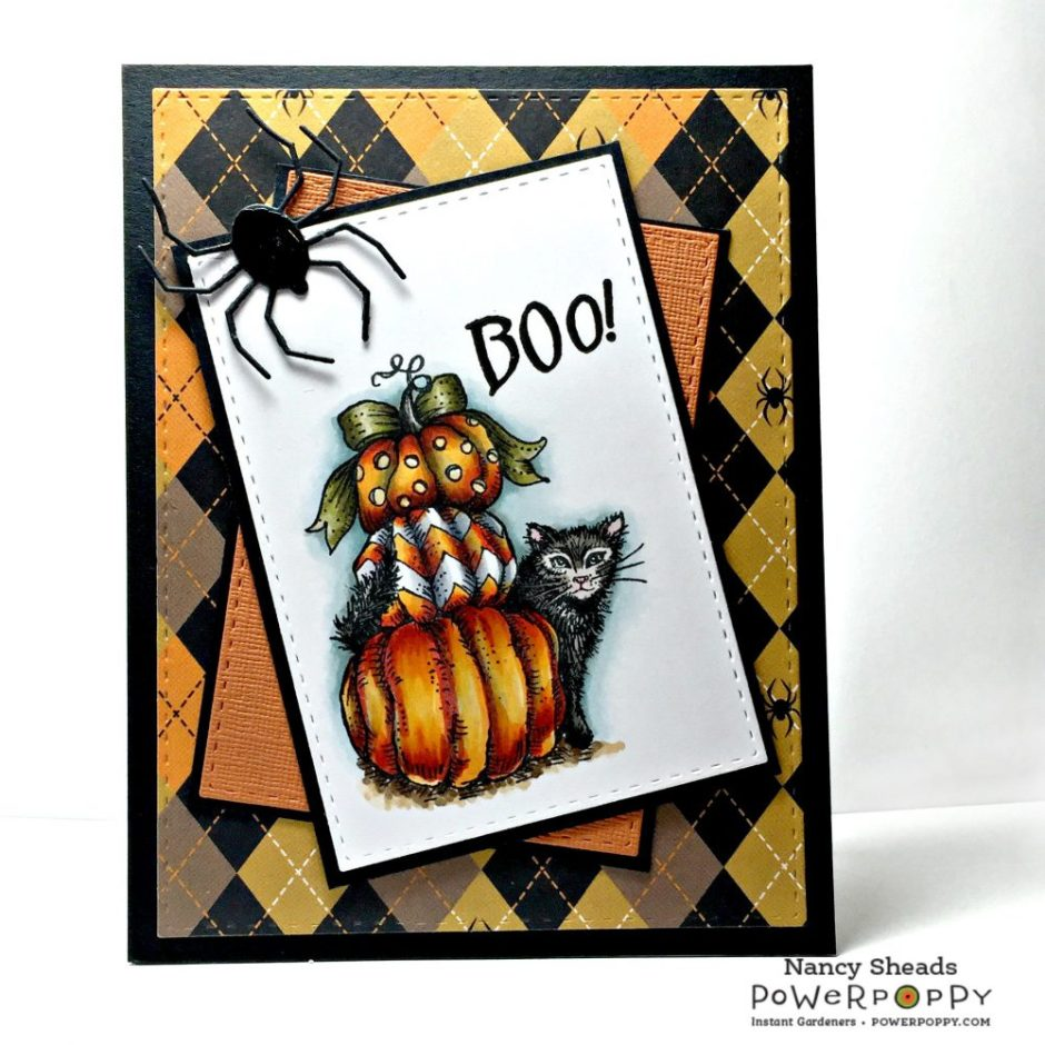 Rowhouse Greetings | Halloween | Feeling Fall by Power Poppy